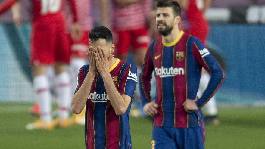 El Barça propone por carta a las 'vacas sagradas' pagarles el 60% de su contrato y diferir el resto