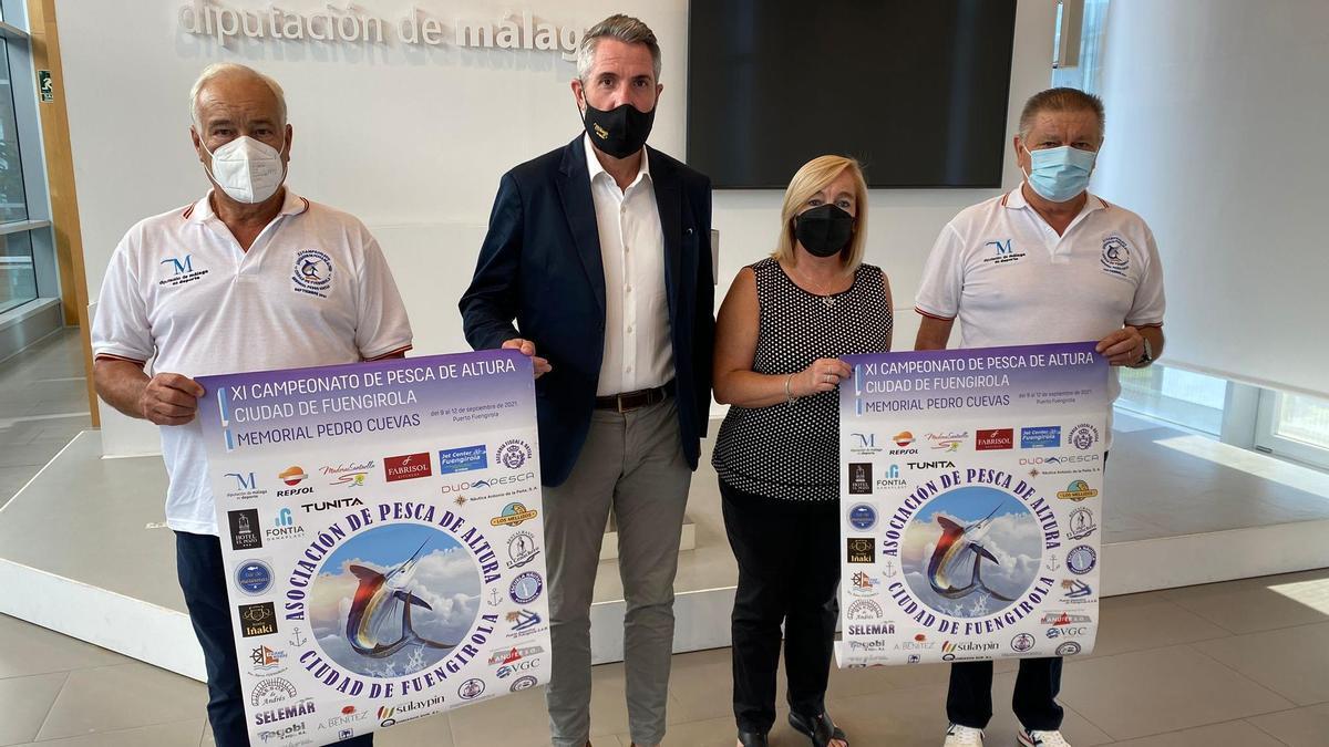 Presentación del XI Torneo de Pesca de Altura Ciudad de Fuengirola Memorial Pedro Cuevas