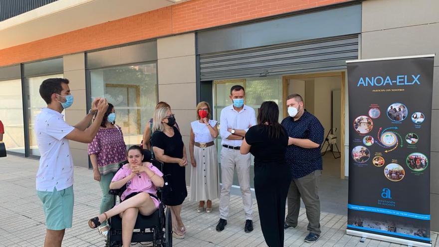 Un gesto que no tiene precio para ayudar a las personas con discapacidad en Elche