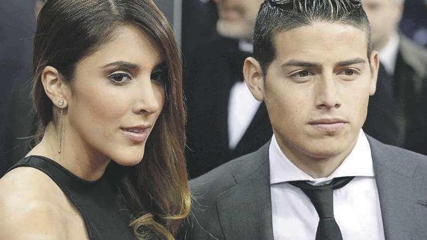 James Rodríguez se separa de la modelo Daniela Ospina