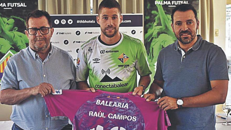 """Raúl Campos: """"El Palma es una de las mejores plantillas de España"""""""