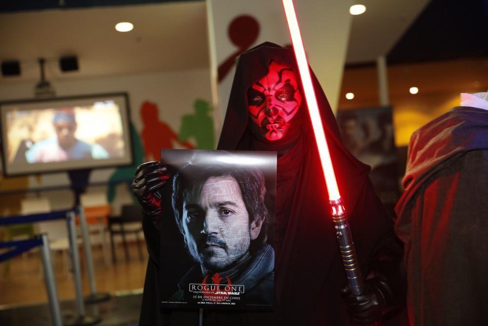 """Estreno de """"Rogue One"""", la nueva entrega de saga galáctica """"Star Wars"""""""