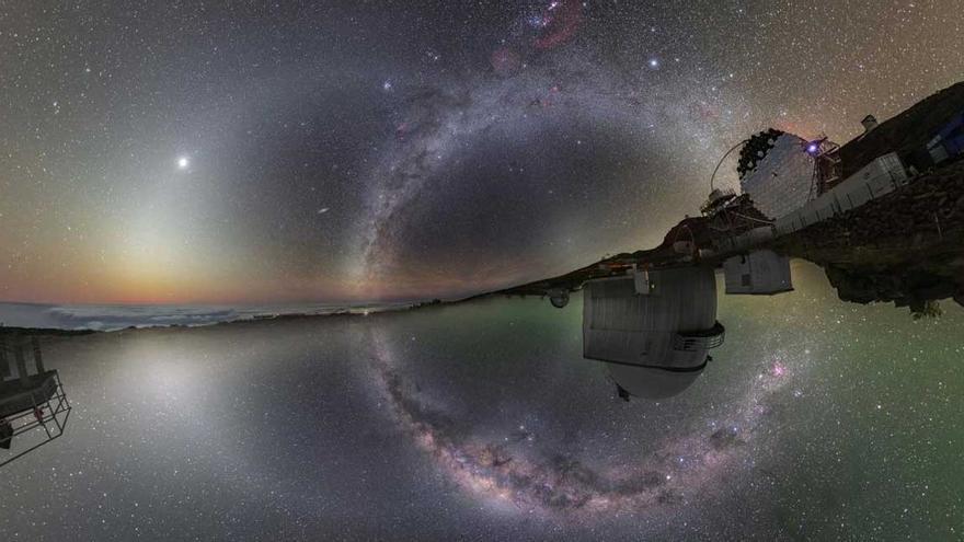 La Palma tiene el mejor cielo nocturno del mundo