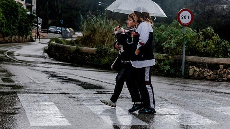 Baleares en alerta amarilla hoy por tormentas y fuertes lluvias
