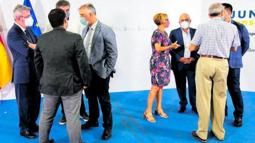 """Canarias avisa al Estado: """"Es crítico llevar los ERTE hasta el final de la crisis"""""""
