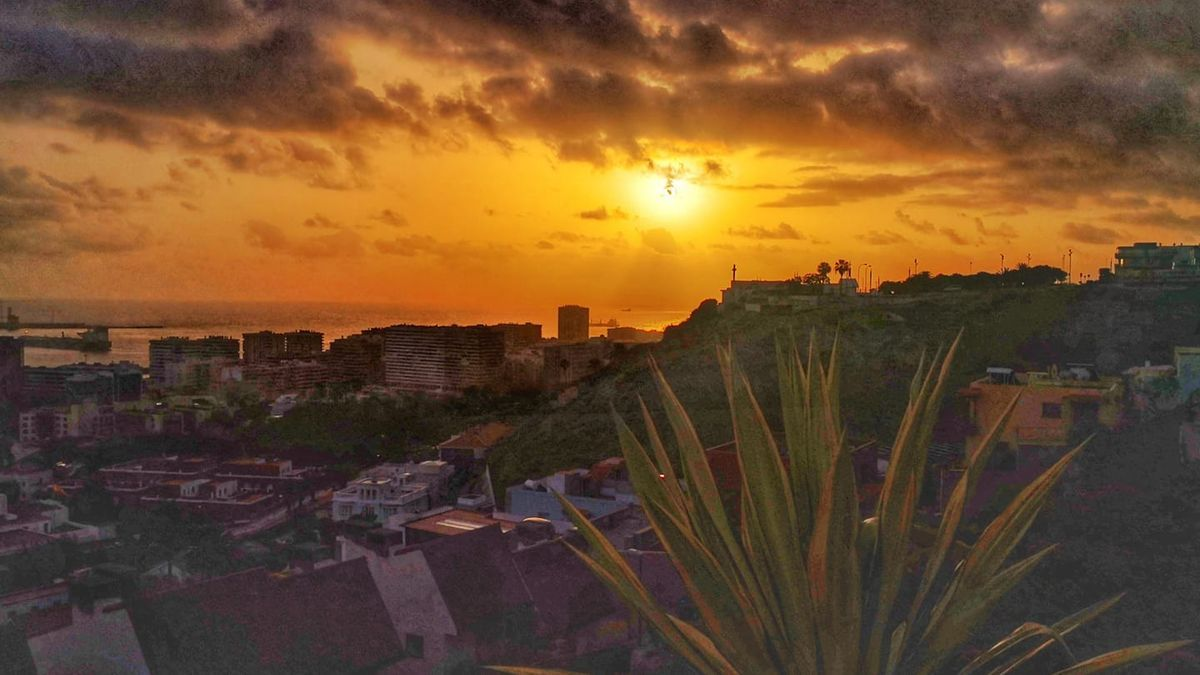 Amanecer desde La Cornisa, en Las Palmas de Gran Canaria