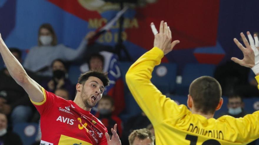 Suspendido por la nevada el España-Croacia de balonmano previsto en Madrid