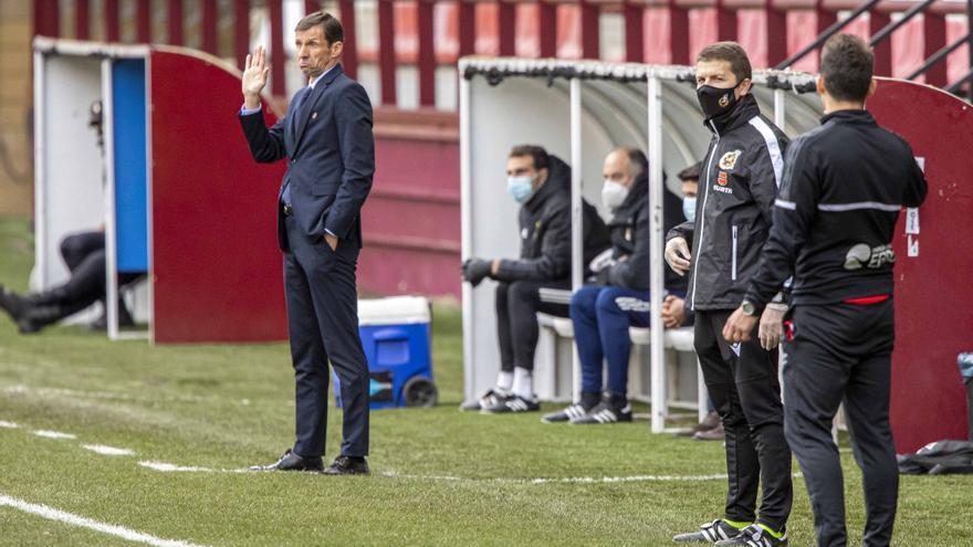 """Ziganda, entrenador del Real Oviedo: """"Tenemos que hacer muchísimas cosas bien para ganar"""""""