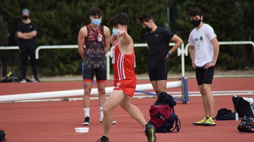 Control de Atletismo en Monte Romero (II)