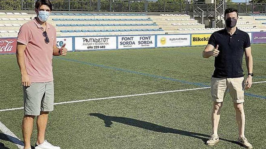 Atlético Baleares: Lekic y Manu Herrera, los últimos en hacerse el test