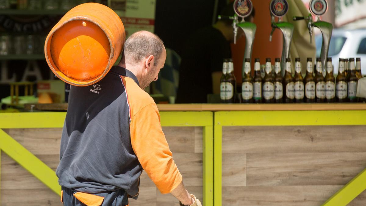 La bombona de butano costará a partir de este martes un máximo de 14,64 euros.