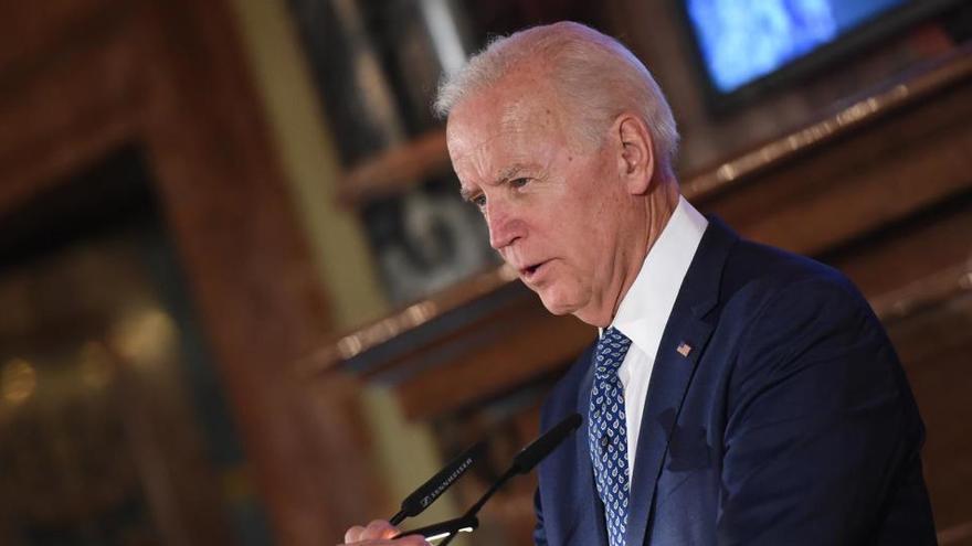"""Biden: """"Es bueno que el presidente no venga a la investidura"""""""
