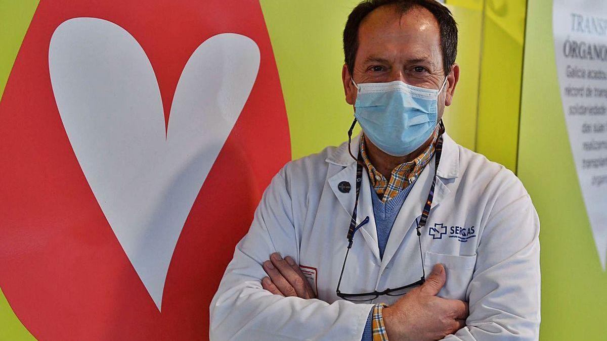 Fernando Isorna, uno de los sacerdotes del Hospital de A Coruña.