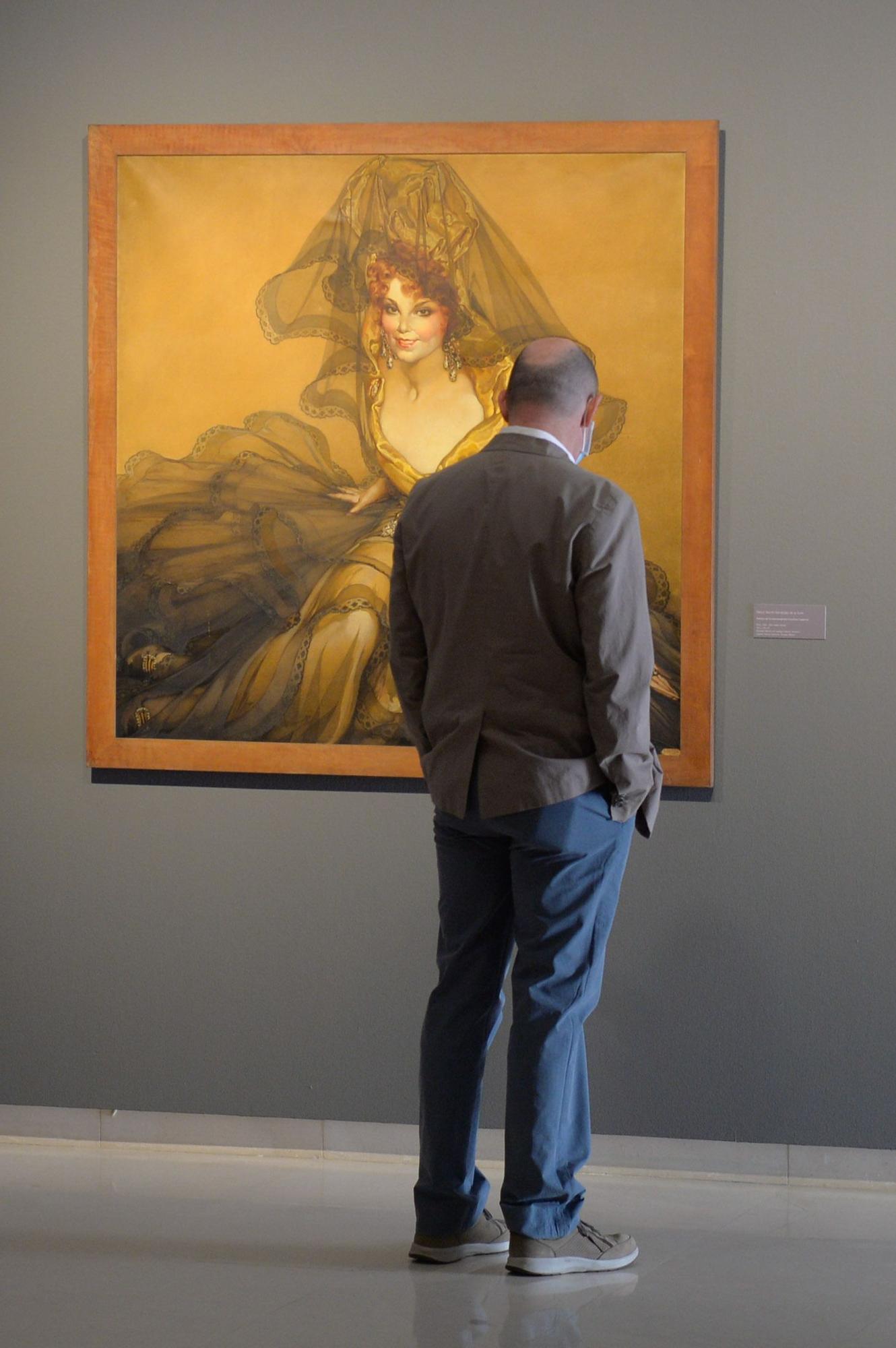 Exposición de Néstor Martín-Fernández de la Torre en el Castillo de Mata