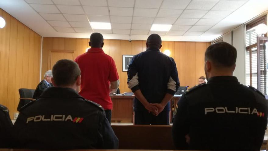 Condenados a tres años por atracar a un hombre y desfigurarle con un cristal de Palma
