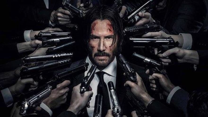 L'actor Keanu Reeves es torna a posar a la pell de l'assassí John Wick