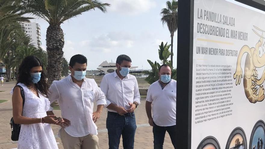 """Luengo destaca """"la positiva evolución"""" del Mar Menor"""
