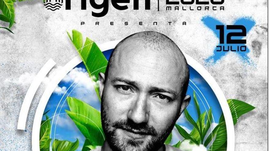 Paul Kalkbrenner spielt auf dem Origen Fest Mallorca