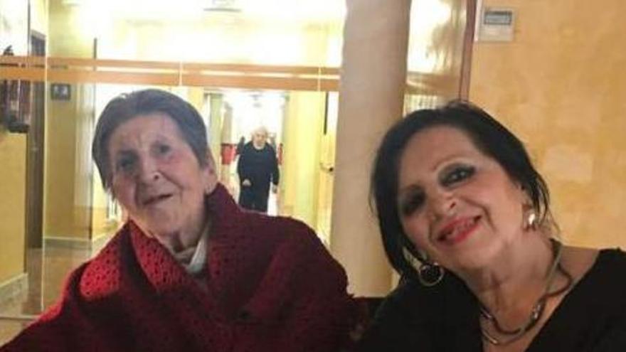 Mor Antonia Martínez, la mare de Pilar Abel