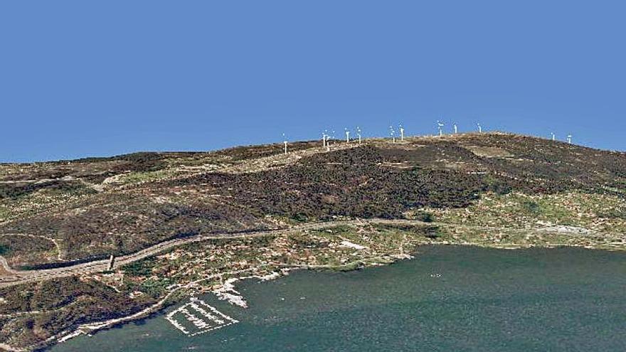 Montes do Morrazo pide que la Xunta responda a las alegaciones al parque eólico