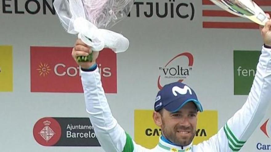 Alejandro Valverde conquista la Volta por tercera vez