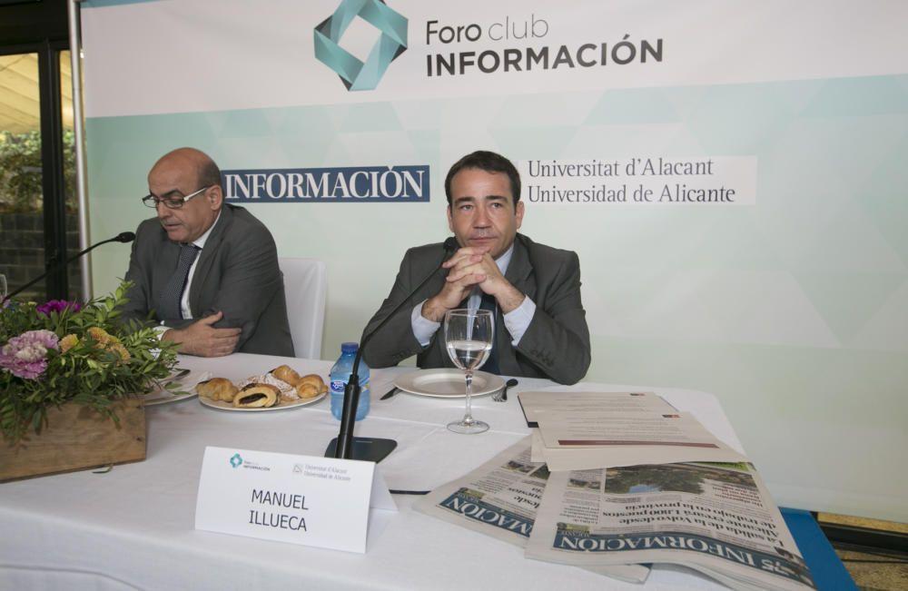 Fernando Ramón en la presentación de Manuel Illueca