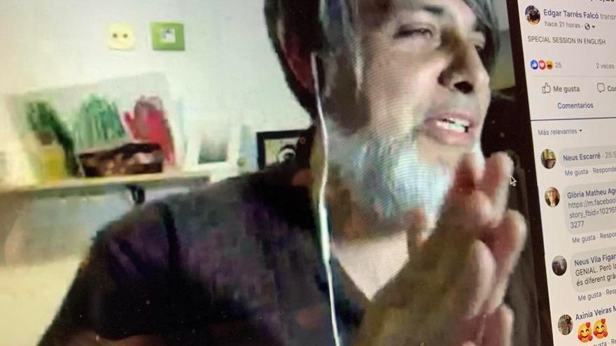 Edgar Tarrés proposa Mindfullness online en temps de confinament