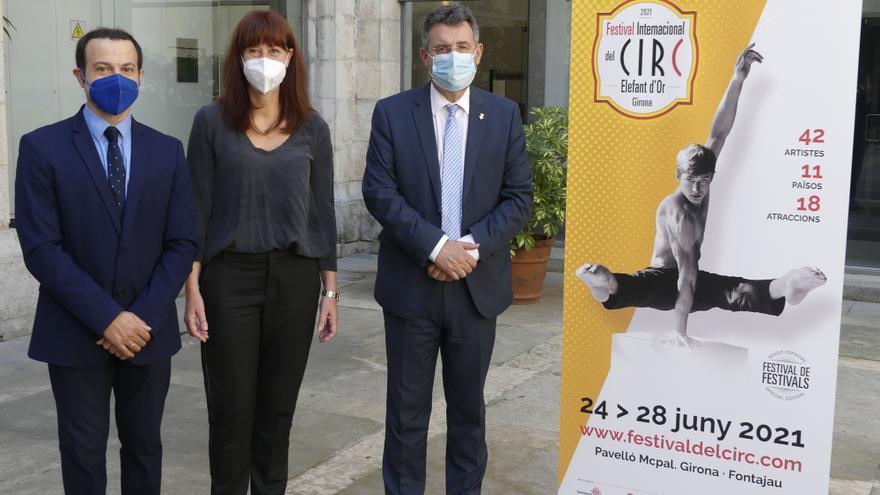 Retorna a Girona l'edició estiuenca del Festival Internacional del Circ Elefant d'Or