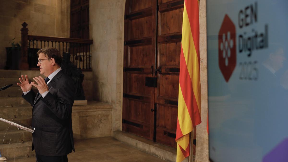 Ximo Puig presenta un plan de digitalización