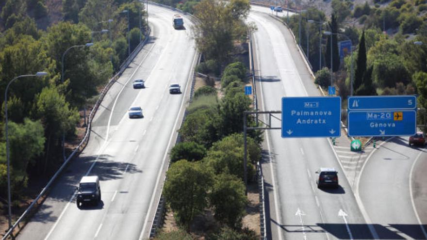 31-Jähriger kommt auf der Autobahn Palma-Andratx zu Tode