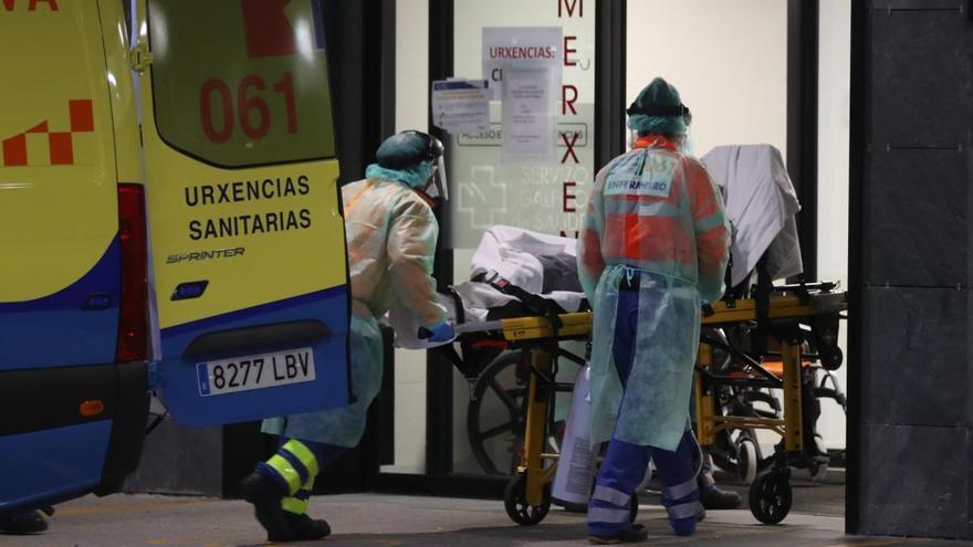 Galicia suma dos días de casos activos al alza pero con una ligera bajada de la presión hospitaria