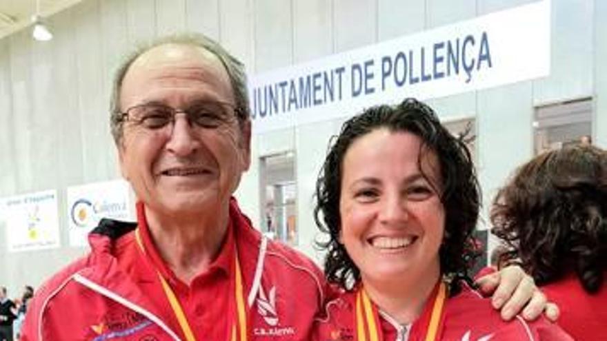 Mompó y Martínez se proclaman campeones de España de bádminton
