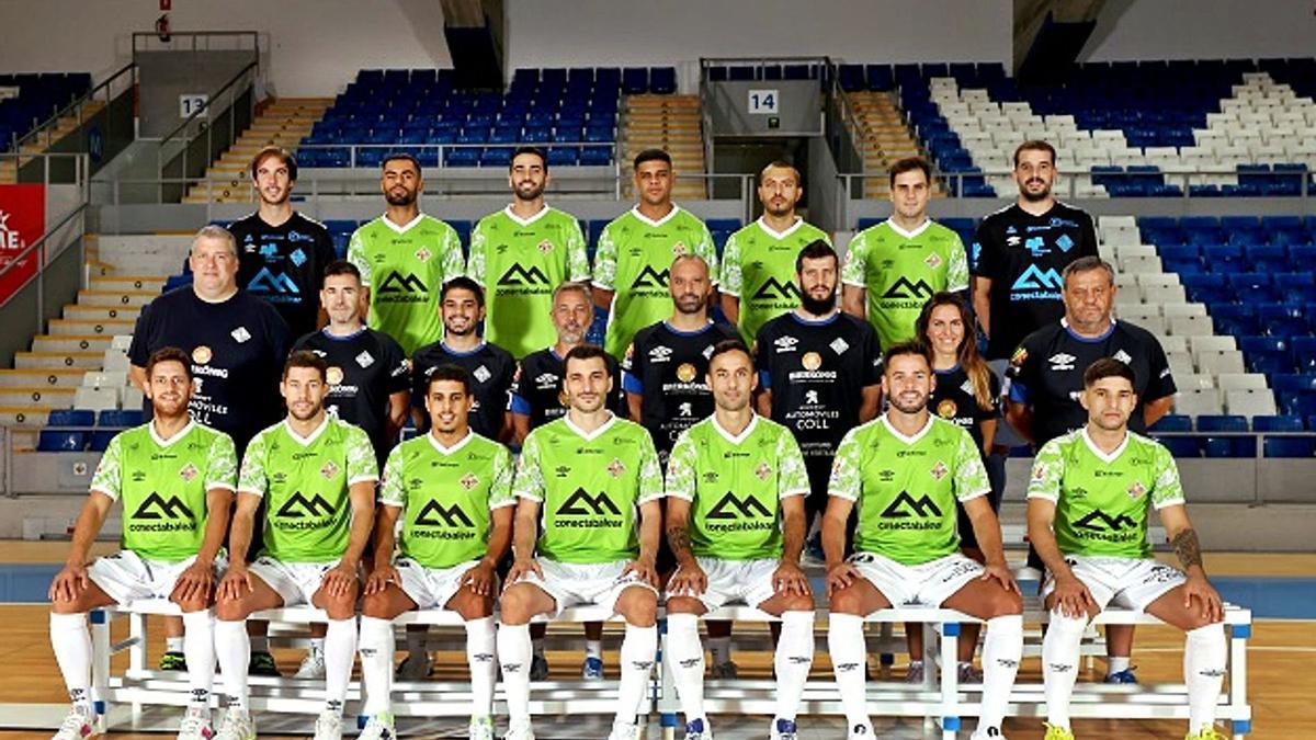 La plantilla del Palma Futsal está preparada para recibir al campeón de Europa en el Palau Municipal d'Esports de Son Moix.