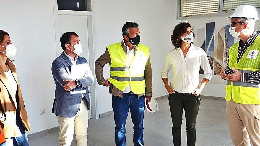 Las obras del Complejo Deportivo de Las Delicias concluirán en el mes de julio