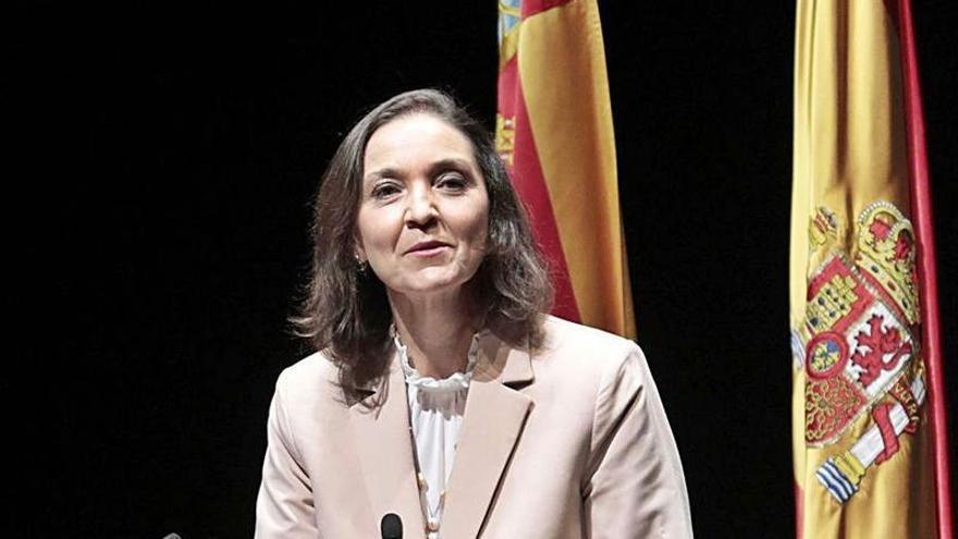 La ministra Reyes Maroto analiza este lunes la actualidad turística en Casa Mediterráneo