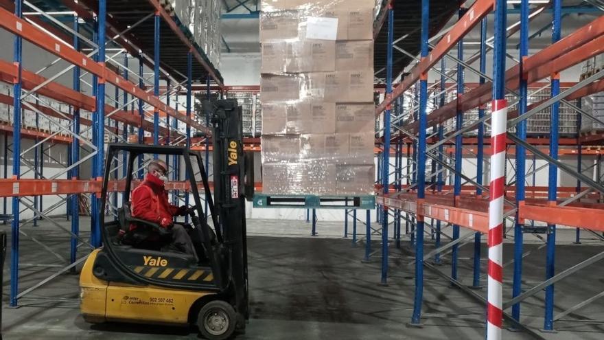 Cruz Roja distribuirá en Málaga 727.000 kilos de alimentos