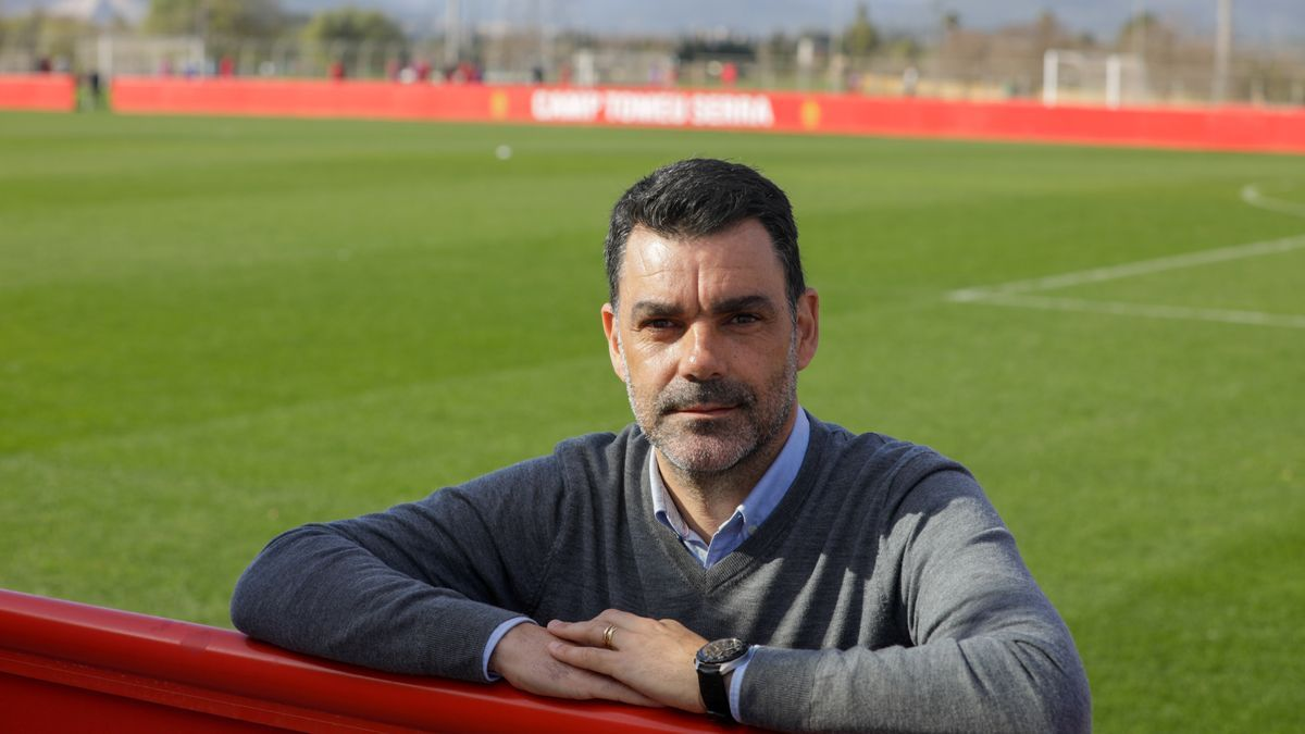 Sergio Vallecillo el pasado mes de febrero en Son Bibiloni