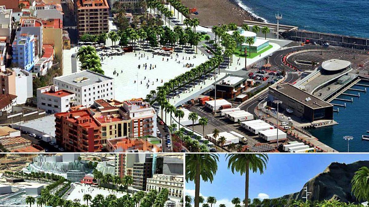 Propuesta del Plan Director de Infraestructuras para el puerto de Santa Cruz de La Palma. | | E.D.