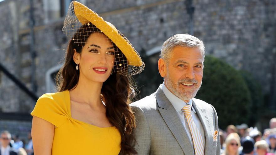 George y Amal Clooney donan un millón de dólares para la lucha contra el coronavirus
