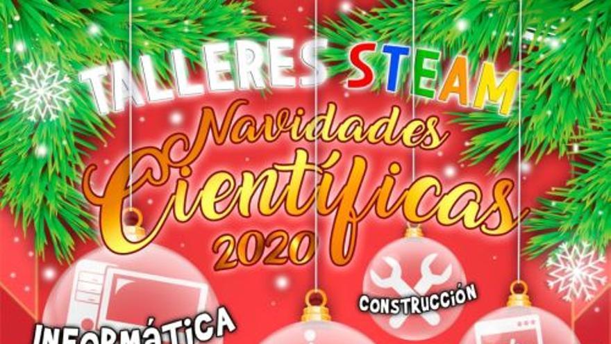 Navidades Científicas con Talleres STEAM