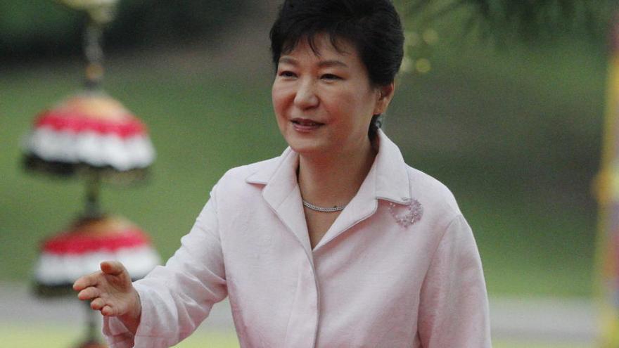 La expresidenta surcoreana niega los cargos de corrupción