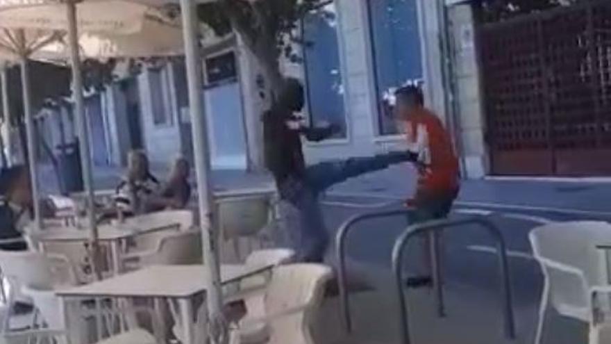 La brutal agresión a un hombre en el Raval Roig