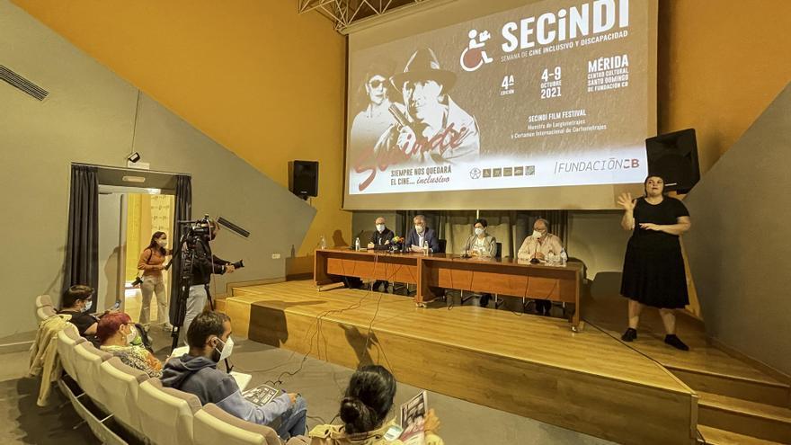 Ocho cortometrajes participarán en la sección oficial de la Secindi
