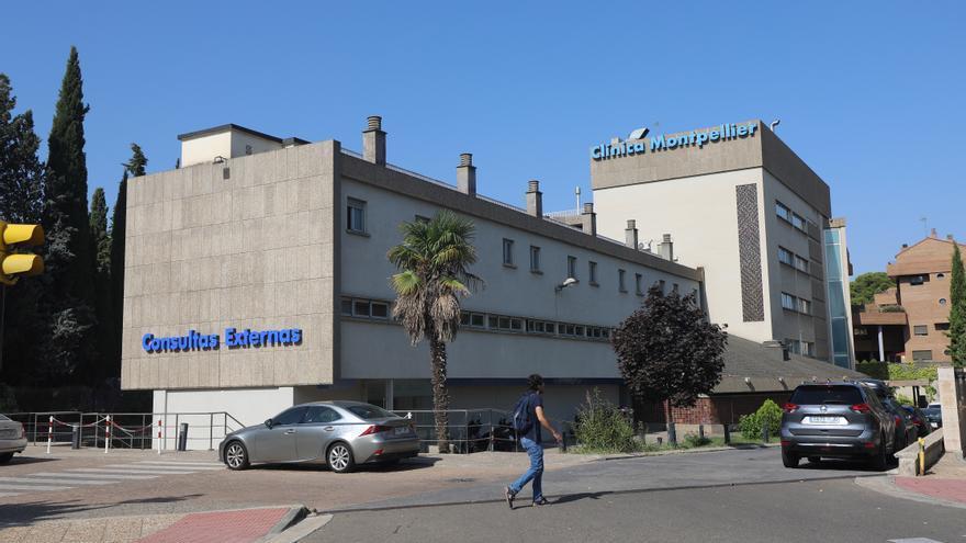 Un ladrón salta de una ventana y se esconde de la Policía en una clínica de Zaragoza