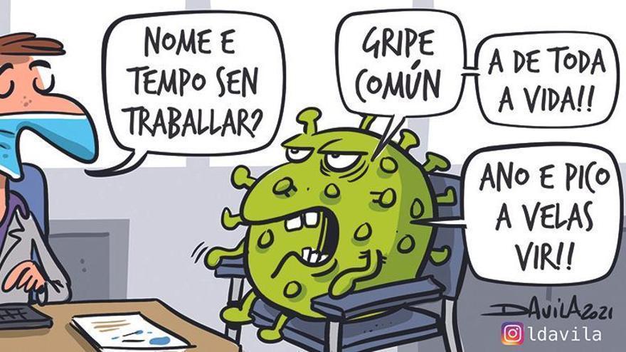 Y la gripe al fin llegó a Galicia