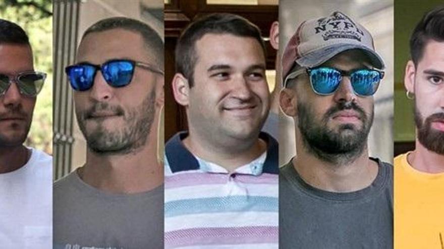 Los condenados de La Manada cumplirán condena en cárceles distintas