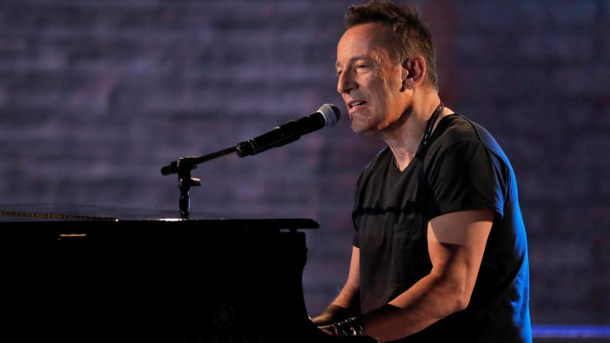El cantautor Bruce Springsteen.