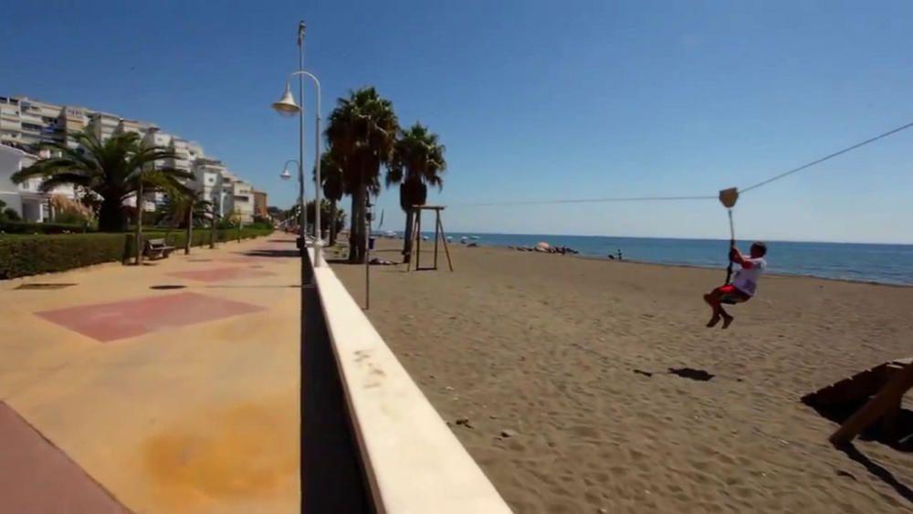 Algarrobo Costa repite este verano con una Bandera Azul.