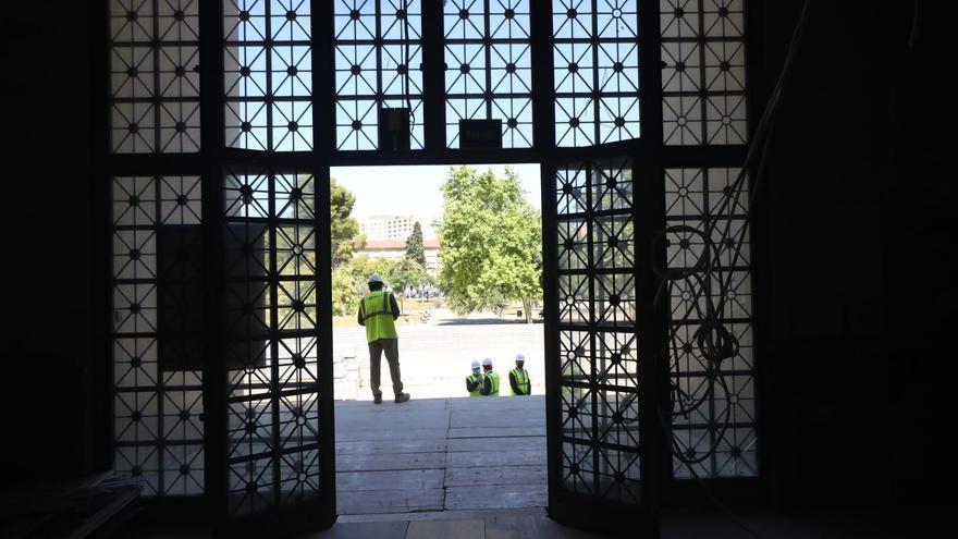 Las obras de Filosofía y Letras avanzan en plazo y estarán para el curso 2022-2023