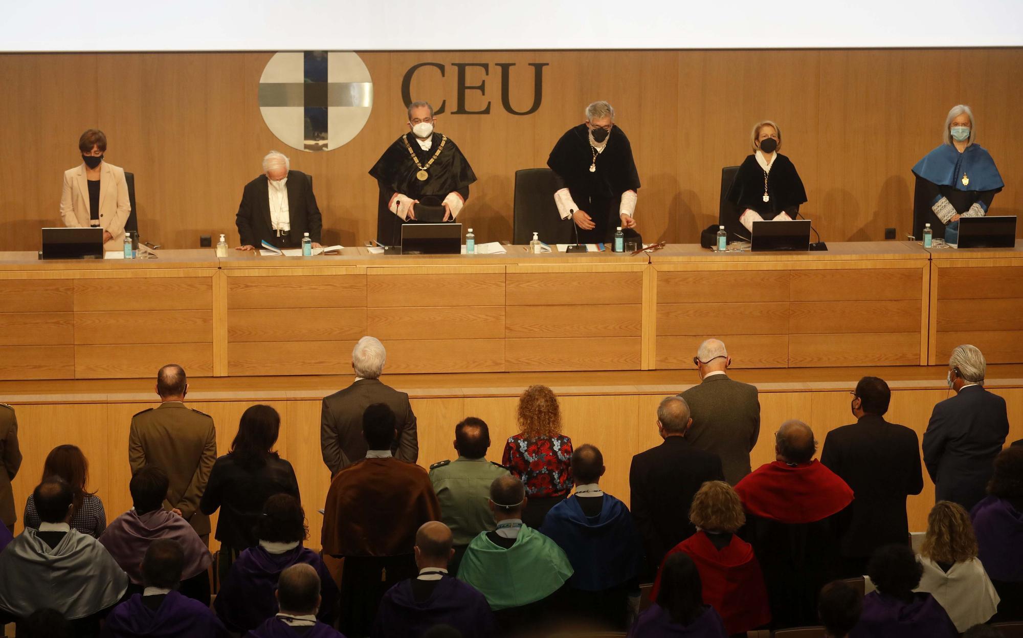 Acto de apertura del nuevo año académico en la Universidad CEU Cardenar Herrera